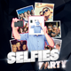 Selfies Party Template - GraphicRiver Item for Sale