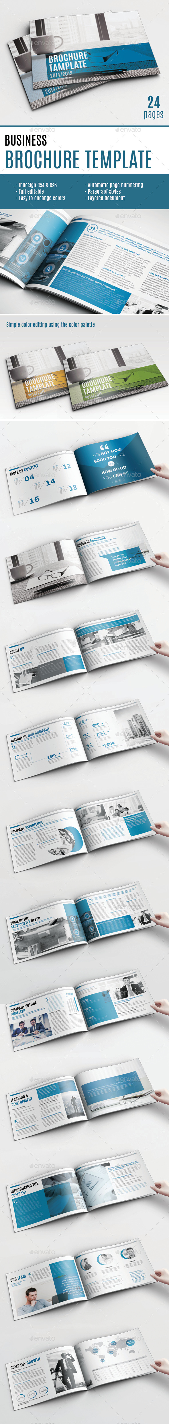 Multipurpose Brochure Template - Brochures Print Templates