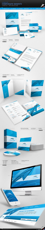 Corporate Identity - Leading Tech - Stationery Print Templates
