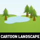 Cartoon Landscapes - GraphicRiver Item for Sale