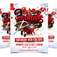 Valentines Disco - Party Flyer - GraphicRiver Item for Sale
