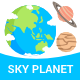 Sky Planet  - GraphicRiver Item for Sale