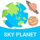 Sky Planet  - GraphicRiver Item for Sale