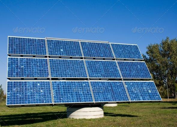 Solar panel - Stock Photo - Images