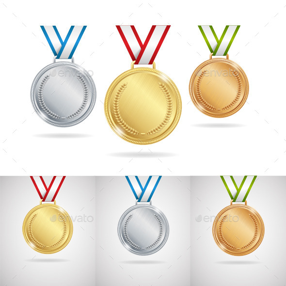 Medals - Sports/Activity Conceptual