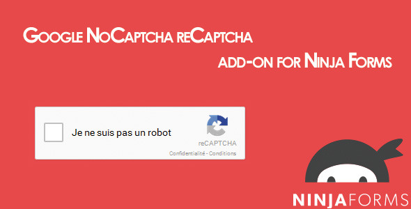 Ninja Forms Google reCaptcha - CodeCanyon Item for Sale