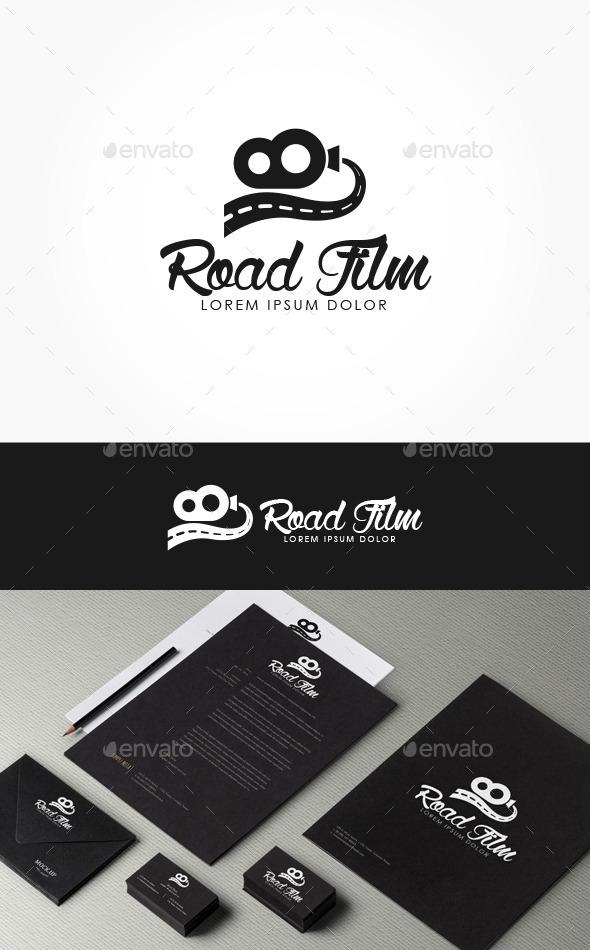 Road Film Logo - Logo Templates