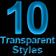 Transparent Text Styles - GraphicRiver Item for Sale
