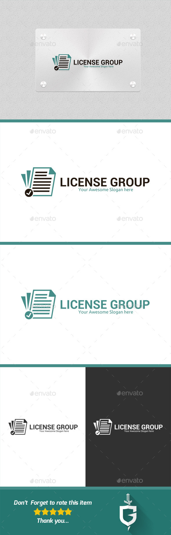 License Group Logo Template - Logo Templates