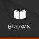 Brown - Responsive WordPress Theme for eBook Nulled