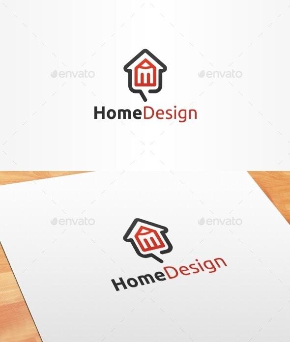 Home Design Logo Template - Buildings Logo Templates