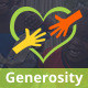 Generosity - Charity/Nonprofit PSD Template