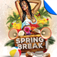 Spring Break Flyer Template Vol. 1