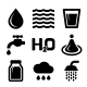 Water Icons Set - GraphicRiver Item for Sale