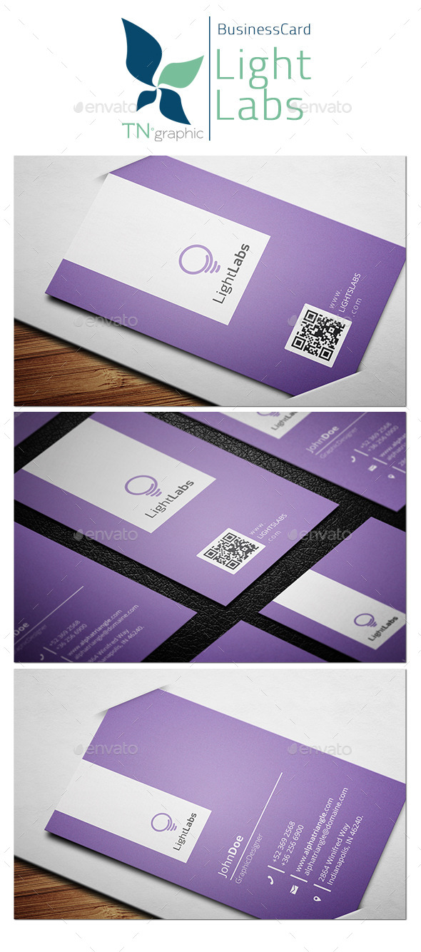 LightLabs - BisunessCard - Corporate Business Cards