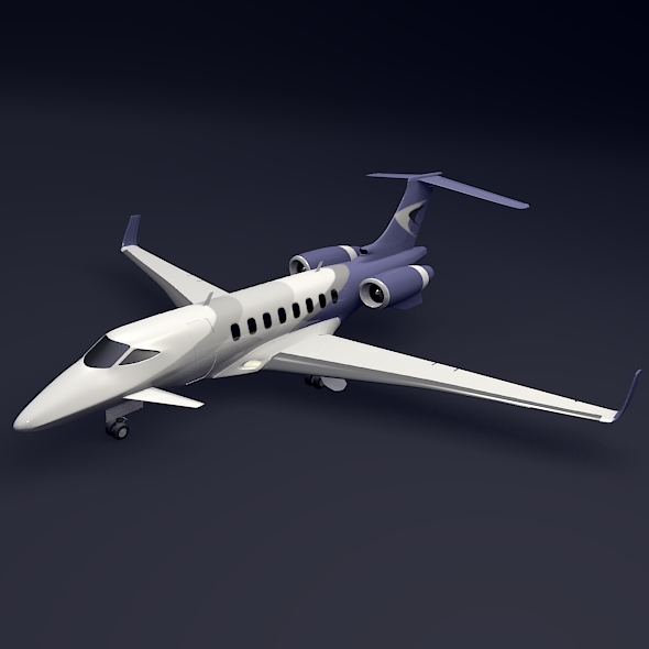 Business jet concept - 3DOcean Item for Sale