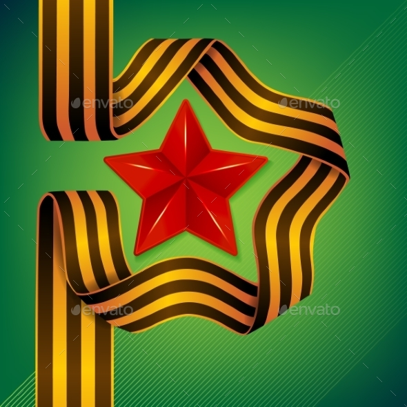 Star of Victory Day - Miscellaneous Vectors