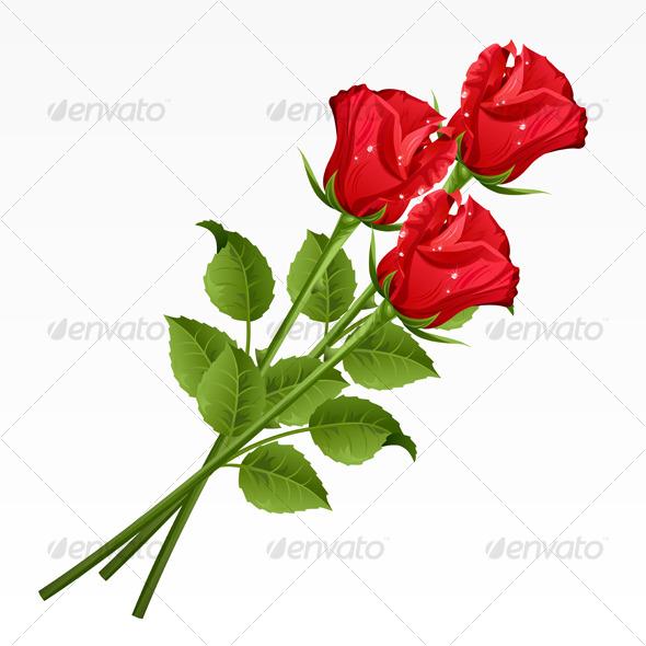 Roses - Characters Vectors