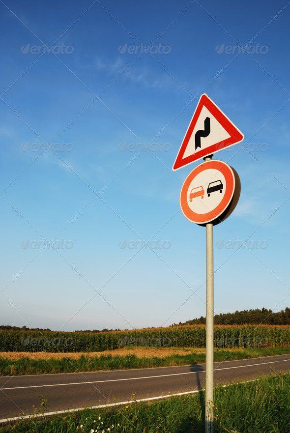 Traffic sign - Stock Photo - Images
