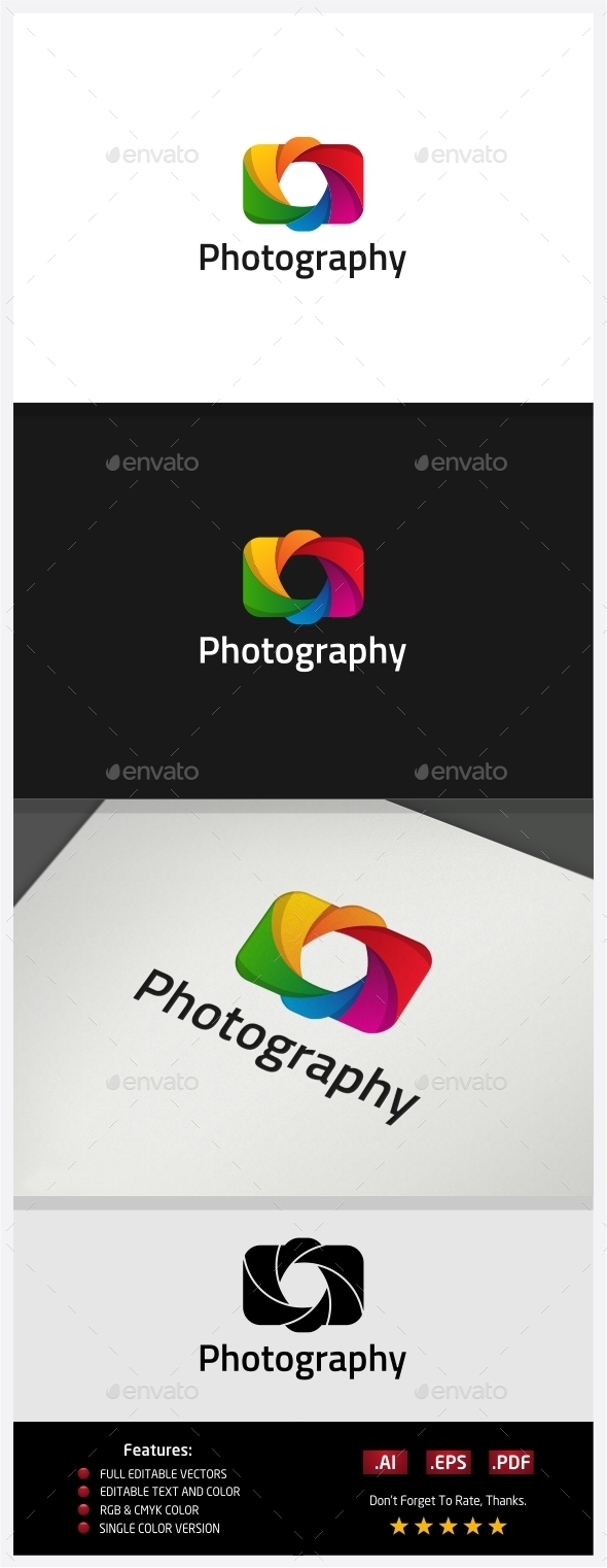 Photography Logo - Vector Abstract