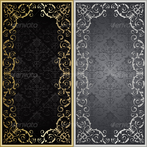 Set from framework - Backgrounds Decorative