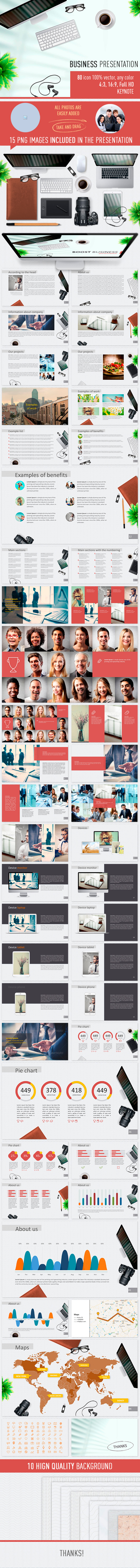 Business presentation - Business Keynote Templates