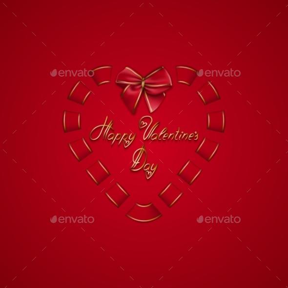 Elegant Template for Luxury Invitation - Valentines Seasons/Holidays