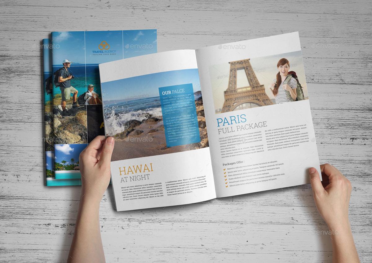 Travel Agency Brochure Catalog InDesign Template 4 by JanySultana ...