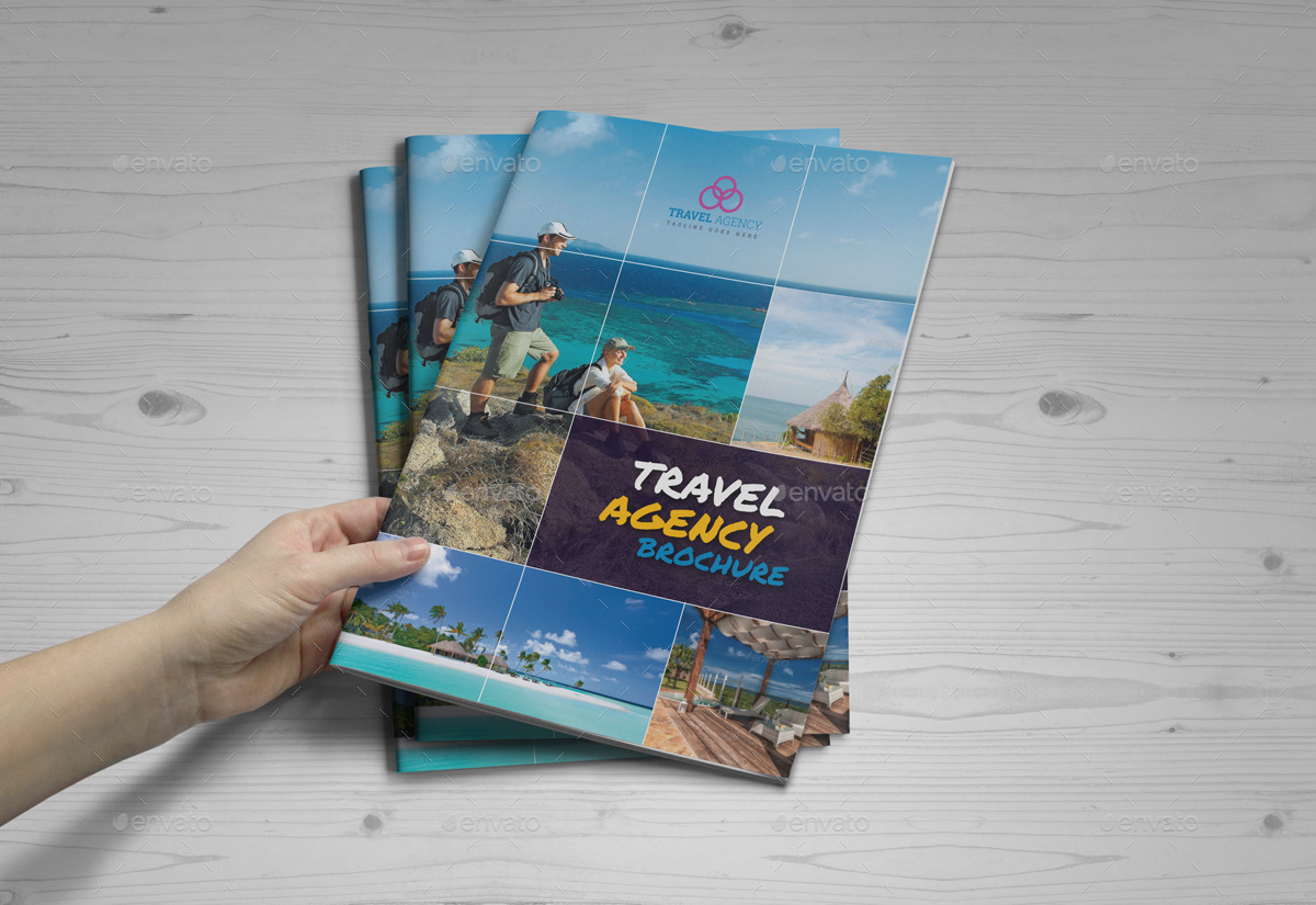 Travel Agency Brochure Catalog Indesign Template 4 By Janysultana