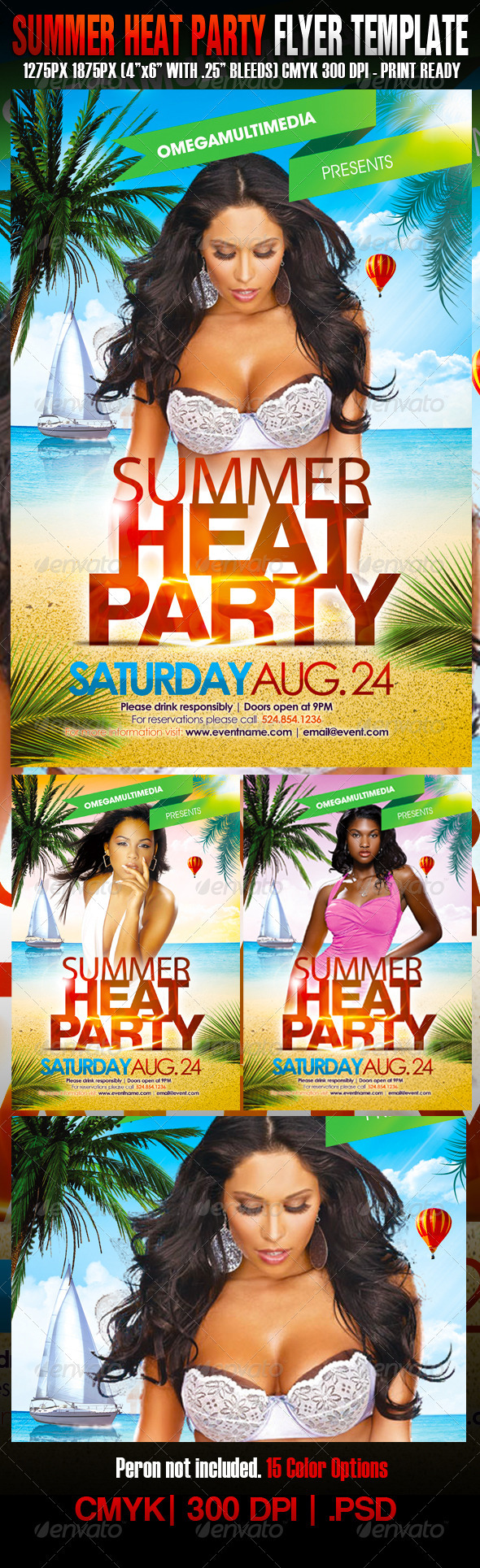 Summer Heat Party - Clubs & Parties Events
