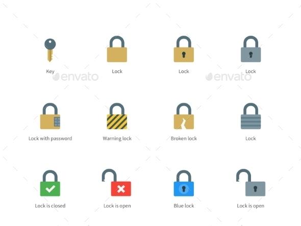 Locks Icons - Miscellaneous Conceptual