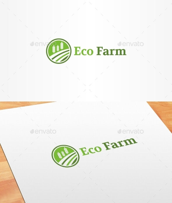 Eco Farm Logo Template - Nature Logo Templates