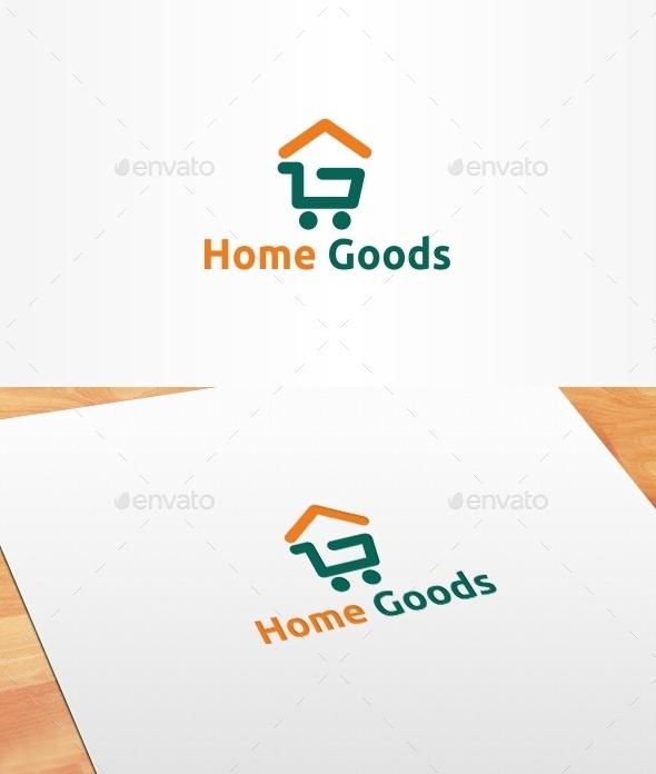Home Goods Logo Template - Symbols Logo Templates