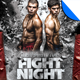 MMA Fight Flyer Template Vol. 1