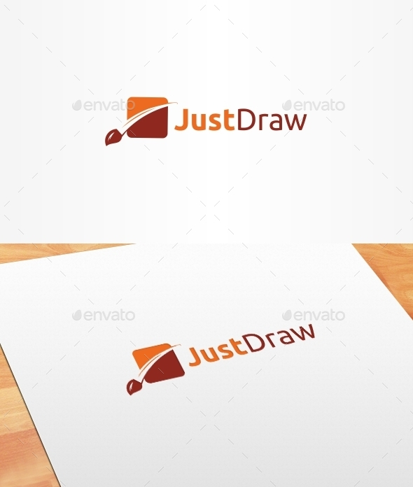 Just Draw Logo Template - Objects Logo Templates