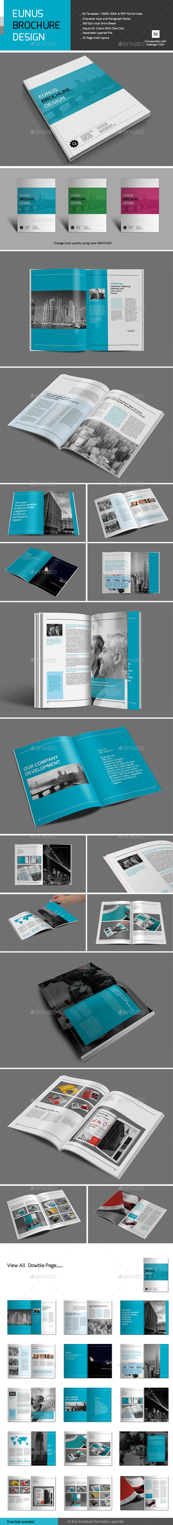 Eunus Brochure Design - Corporate Brochures
