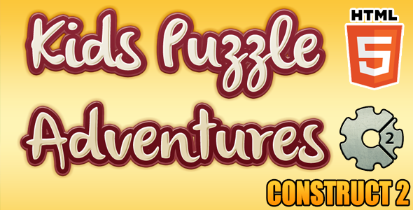 Kids Puzzle Game - HTML5 Educational Game (CAPX) - CodeCanyon Item for Sale
