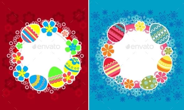 Decorative Easter Frames - Miscellaneous Seasons/Holidays