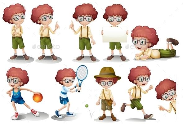 Boy - People Characters