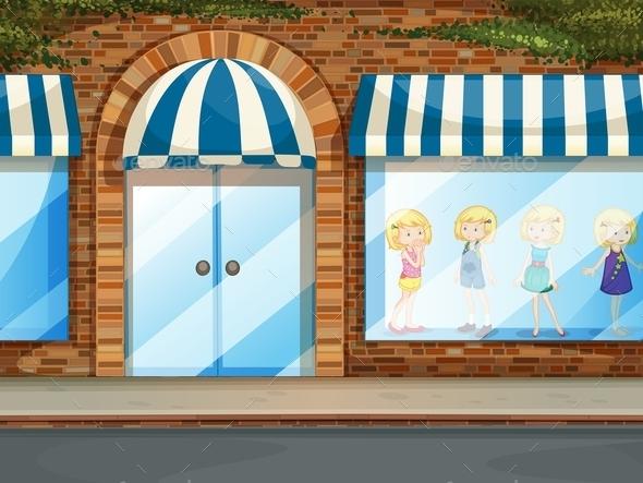 Shop - Buildings Objects