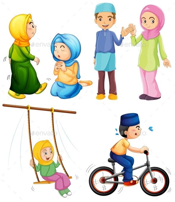 Islamic - People Characters