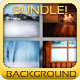 Winter Backgrounds Bundle - GraphicRiver Item for Sale