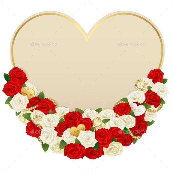 Flower Card - Valentines Seasons/Holidays