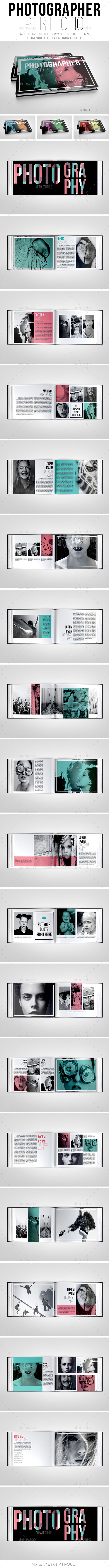 Photographer Portfolio Brochure - Portfolio Brochures