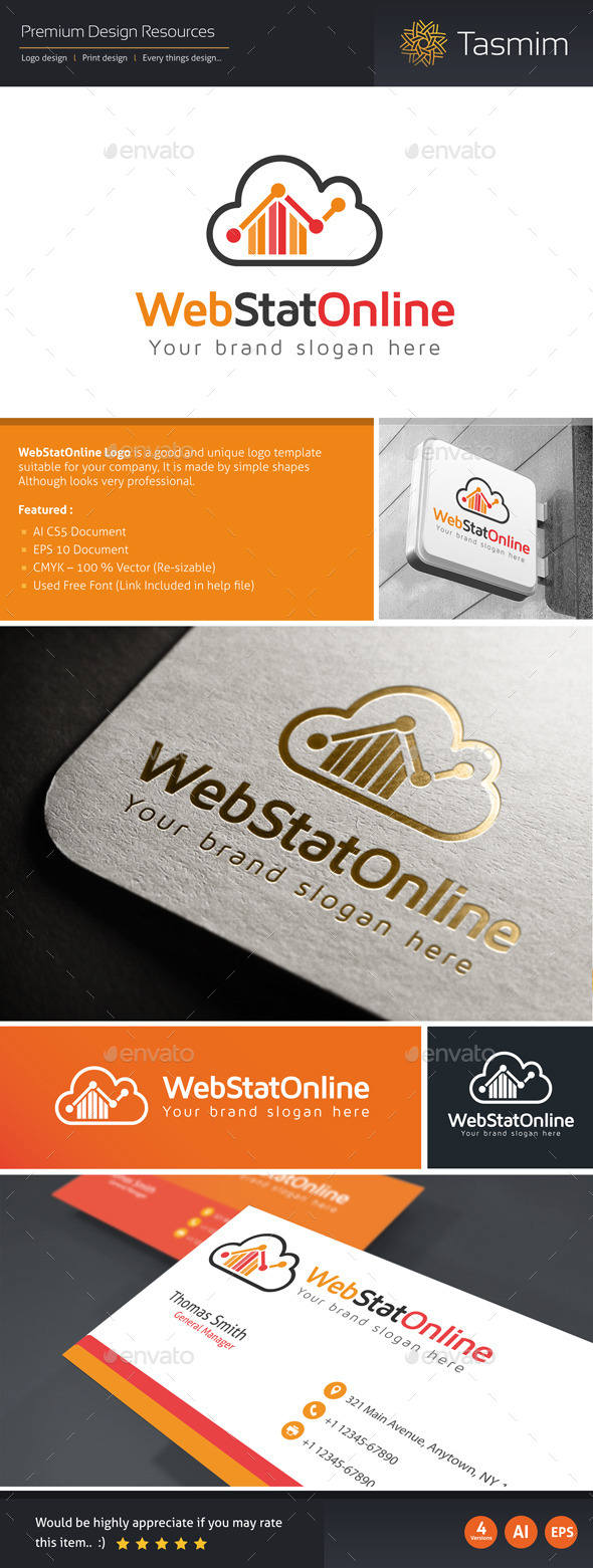 WebStatOnline Logo Template - Symbols Logo Templates