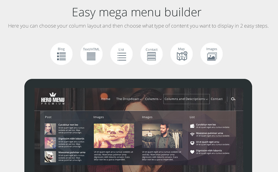 Hero Menu - Responsive WordPress Mega Menu Plugin by heroplugins ...