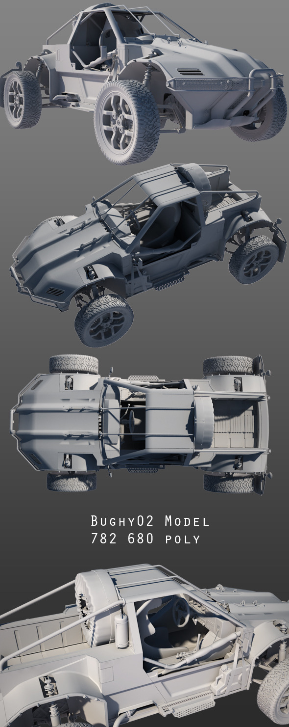 Buggy Concept 2 - 3DOcean Item for Sale