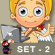 Blonde Cupid Character - Set 2 - GraphicRiver Item for Sale