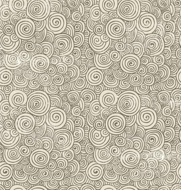 Hand-Drawn Doodle Seamless Background Pattern - Patterns Decorative