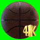 Basketball On A Green Background - VideoHive Item for Sale